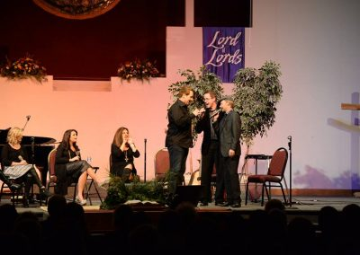 Performing with The Nelons & Michael English