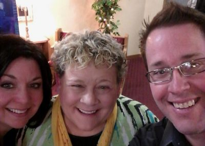 Friend in ministry, Susie Shellenberger