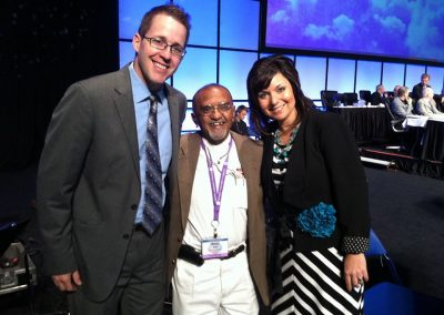 Our friend Martin at the Nazarene General Assembly 2013 in Indianapolis